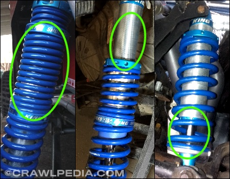 Coilover Springs Too Soft